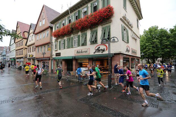 Stuttgart-Lauf 2014 Lauf durch die Stadt