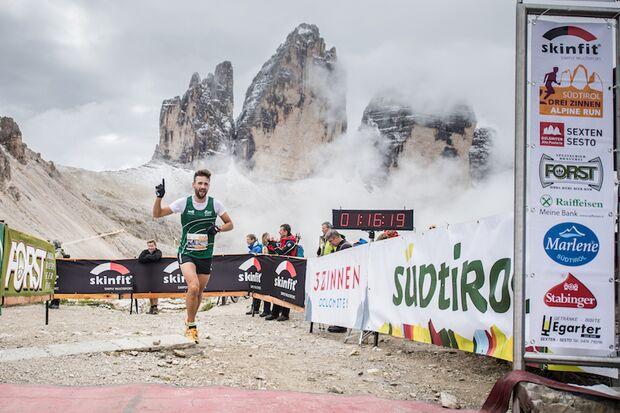 Südtirol Drei Zinnen Alpin Lauf Sexten Ziel 2017