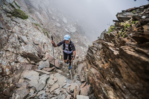 Südtirol Ultra Skyrace 2017 Aufstieg