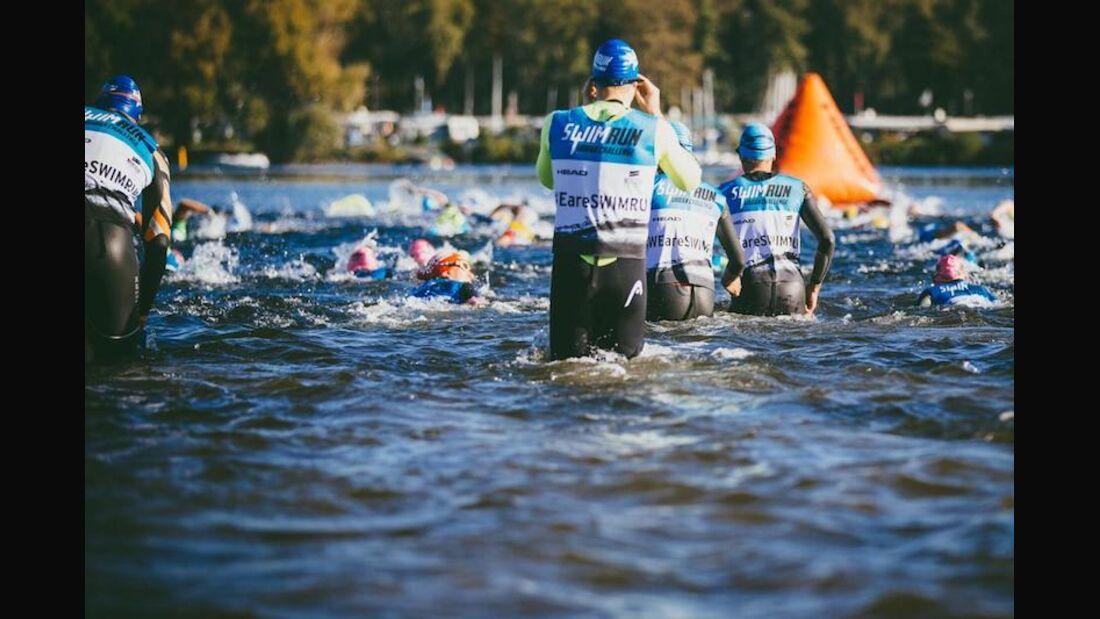 SwimRun Urban Challenge Düsseldorf 2018 Turnschuhe