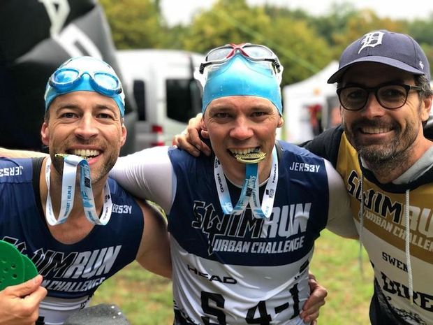 SwimRun Urban Challenge Ingolstadt 2018 Finish