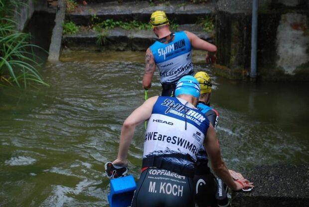 SwimRun Urban Challenge Ingolstadt 2018 Swim