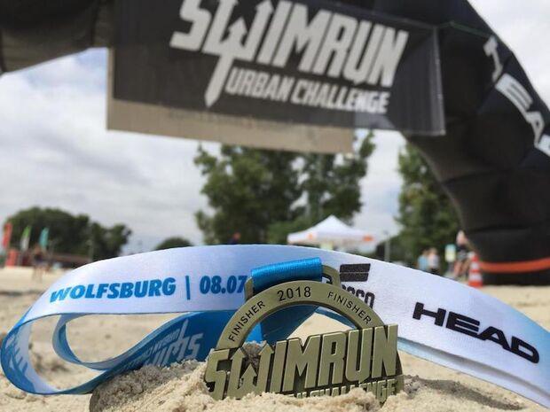 SwimRun Urban Challenge Wolfsburg 2018 Finish