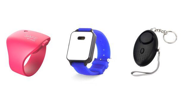 Taschenalarm und Alarm-Armbänder