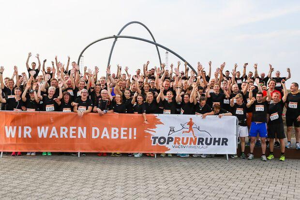 Teamerlebnis beim TopRunRuhr VIACTIV Firmenlauf