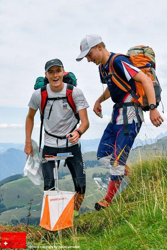 Teamgeist beim Swiss International Mountain Marathon