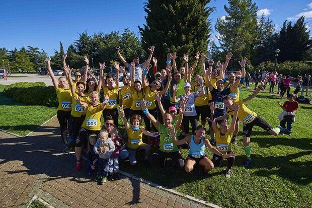 Teamspirit wird groß geschrieben beim Novigrad Cittanova Run.