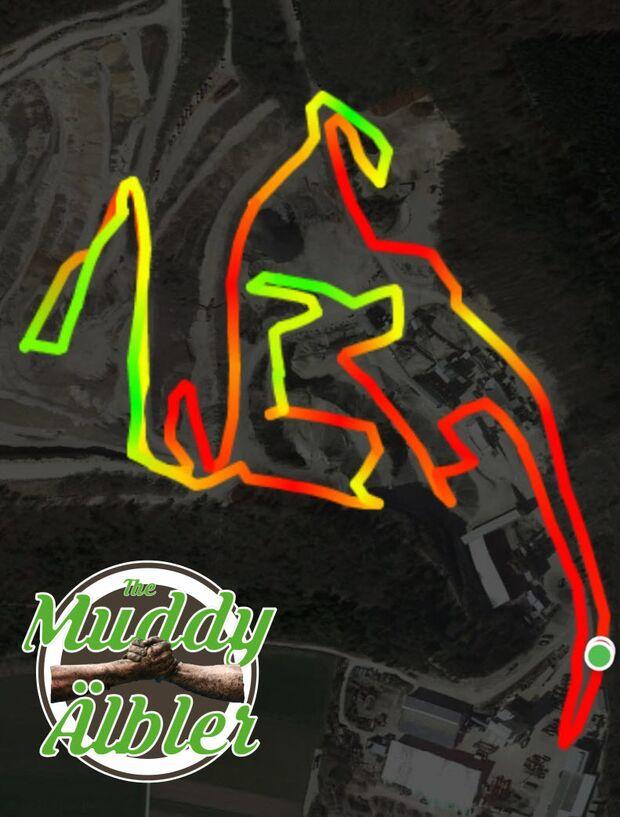 The Muddy Älbler 2019 Strecke