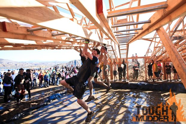 Tough Mudder Hangelhindernis