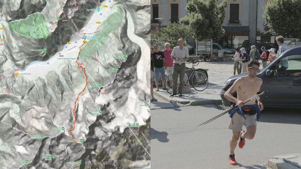 Tour auf den Mont Blanc, Kilian Journet