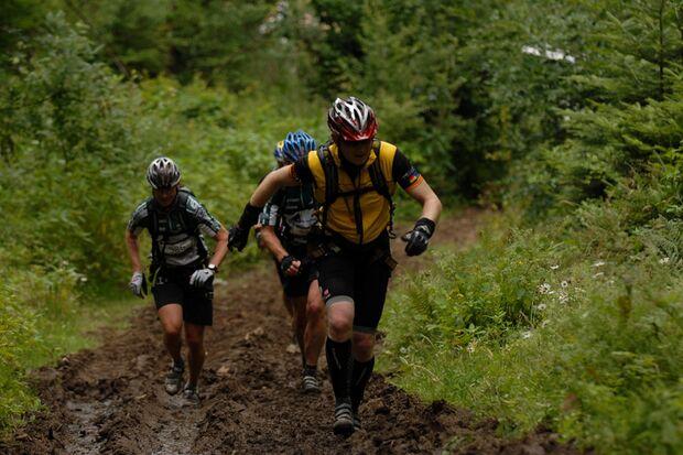Trailrunning beim Adventure Race Schwarzwald
