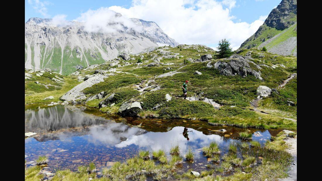 Trails beim Swiss Alpine Irontrail bieten anspruchsvolle Wege und eine wunderschöne Kulisse.