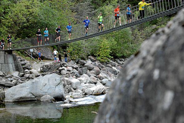 Transviamala Run & Walk 2013 Brücke