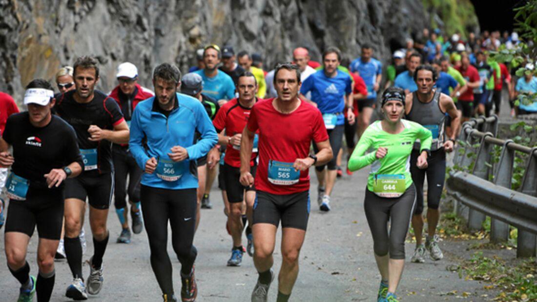 Transviamala Run & Walk 2013 Trails