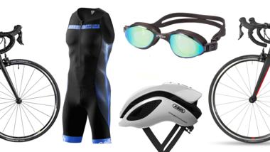 Triathlon-Ausrüstung Einsteiger