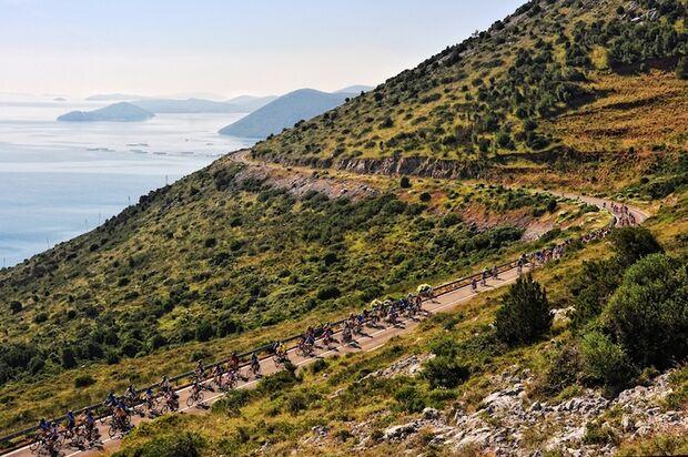 Triathlon Long Island Croatia Radfahrer 2018