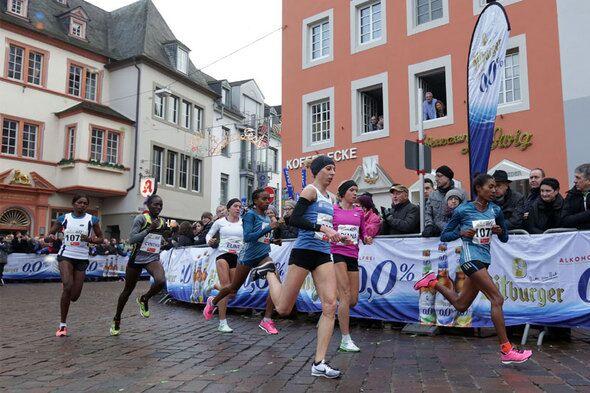 Trier Silvesterlauf 2014 Frauen