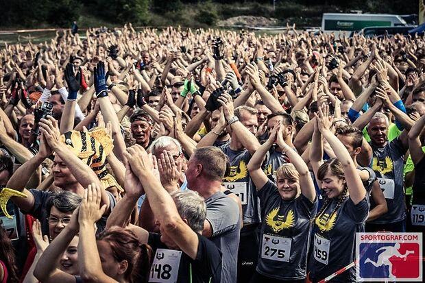 Trotz aller Anstrengung bedeutet der Survival-Run Hodenhagen vor allem Spaß.