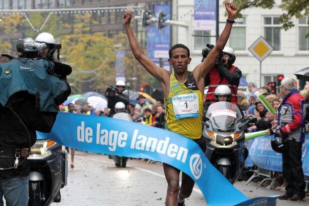 Tsegay Yemane Eindhoven-Marathon 2013 Highlight