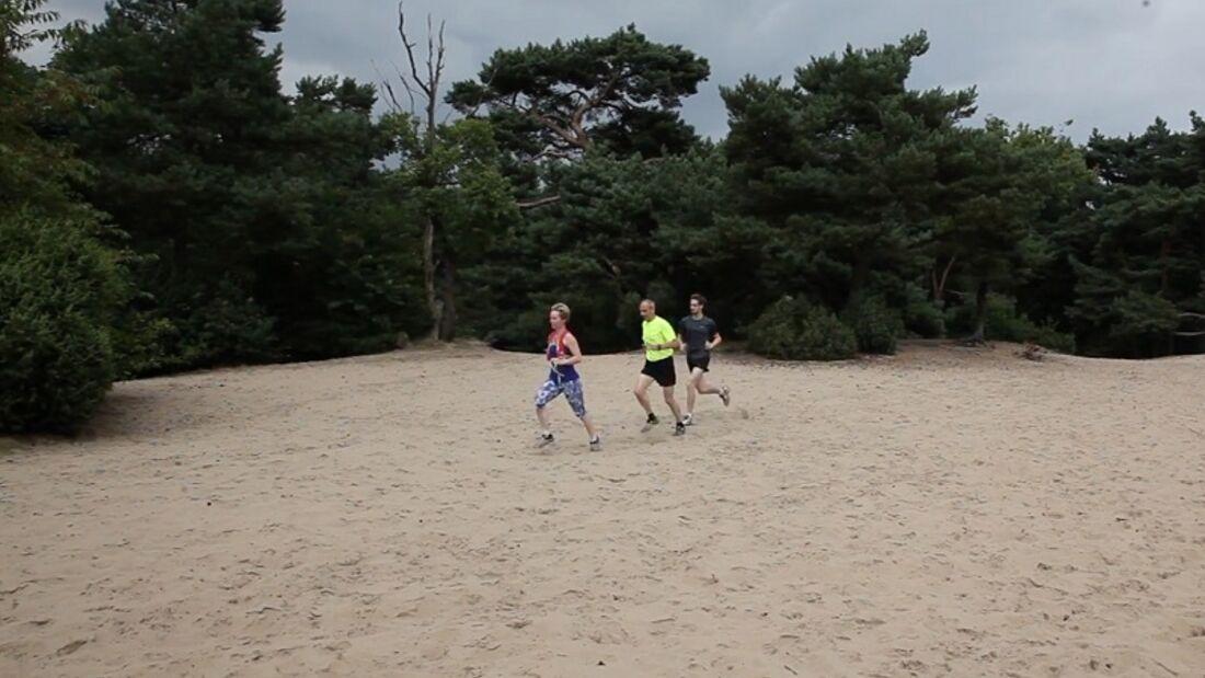 Twentse Smokkel Trail Losser: Durch die Sandberge