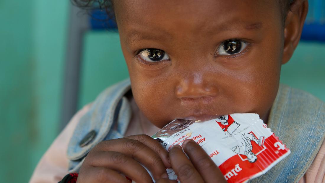 UNICEF Ernährungspaket