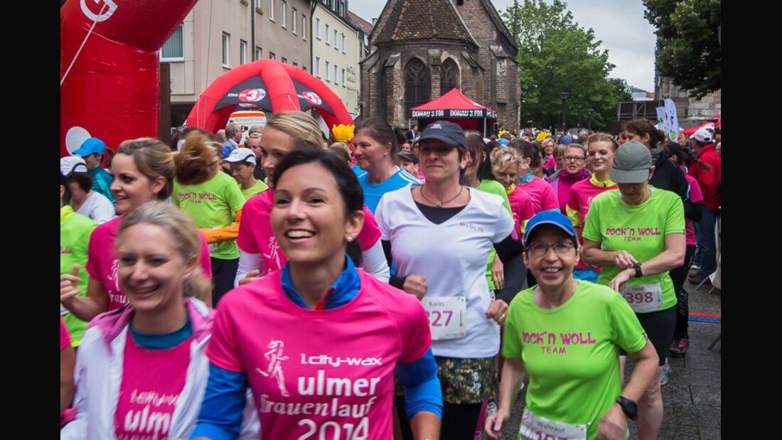 Ulmer Frauenlauf 2014