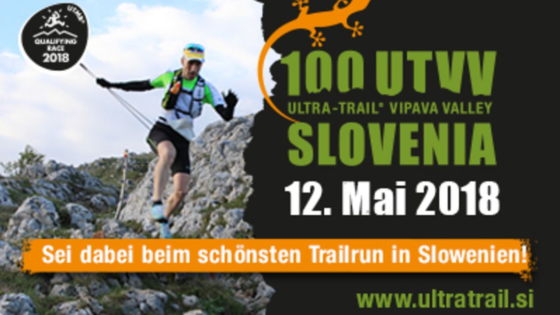 Ultra Trail Vipava Valley Banner 2018