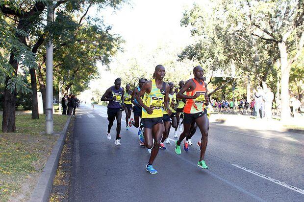 Valencia-Marathon Landesrekord 2013 highlight