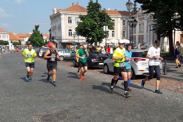Vilnius-Marathon 2016 Rathausplatz