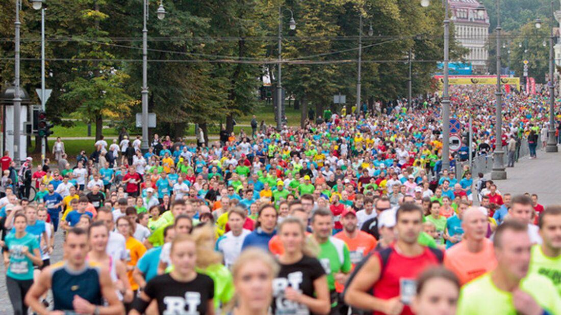 Vilnius-Marathon Start 2014