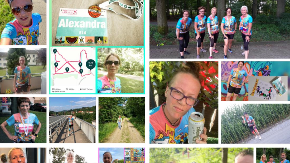 Virtueller Frauenlauf Deutschland Sommer-Edition 2021