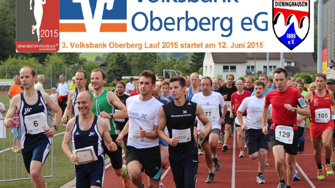 Volksbank Oberberg Lauf Dieringhausen 2015