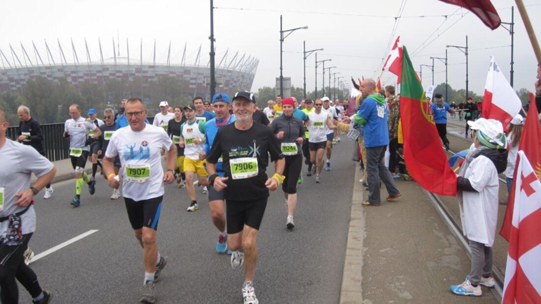 Warschau-Marathon 2013