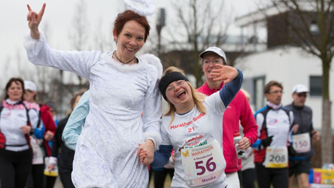 Welt-Down-Syndrom-Tag Marathon Fürth