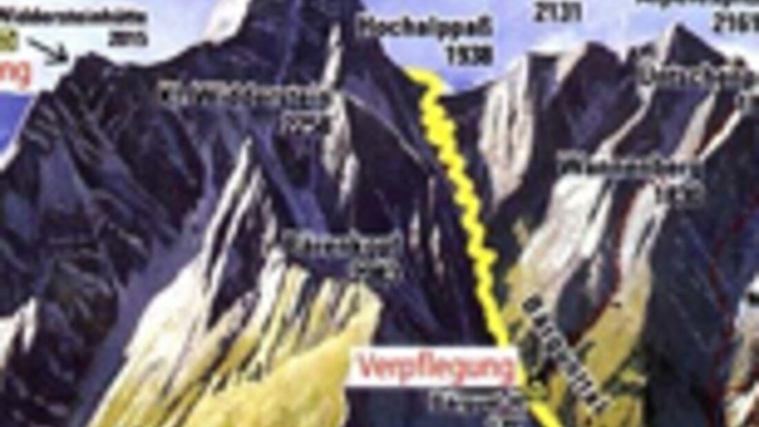 Widdersteinlauf Vorarlberg