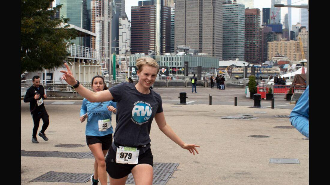 Wie war der Halbmarathon in New York?