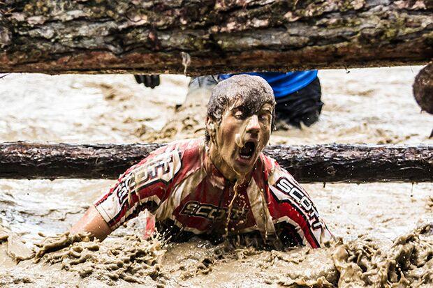 Wildsau Dirt Run in der Hellsklamm Herbst 2014