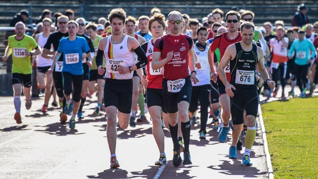Winterlaufserie Hamm 2014 Halbmarathon