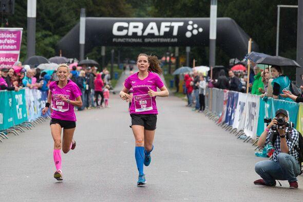 Women's Run Frankfurt 2016 Ziel