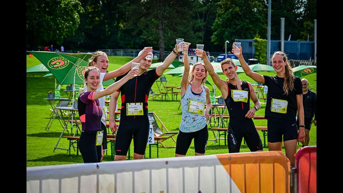 Zehn Freunde Triathlon Frankfurt 2021