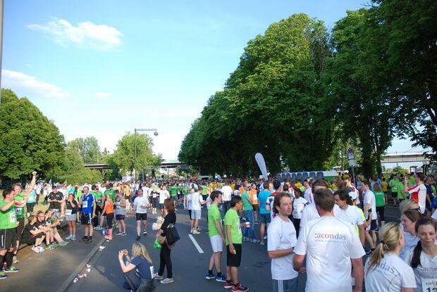 Ziel Run4Ideas Düsseldorf 2015