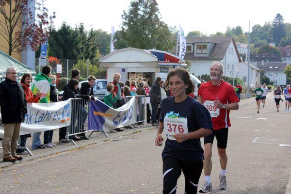 Zieleinlauf beim Ettenheimer Stadtlauf