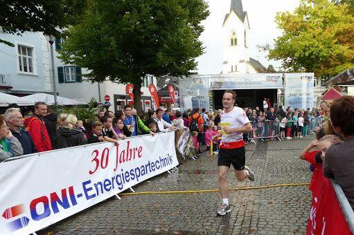Zieleinlauf beim Wipperfürther Stadtlauf