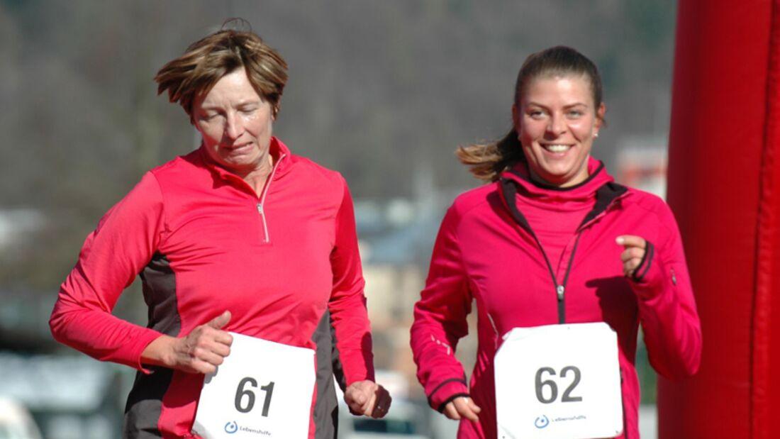 i-Lauf, Lauf für Integration und Inklusion: Glücklich im Ziel