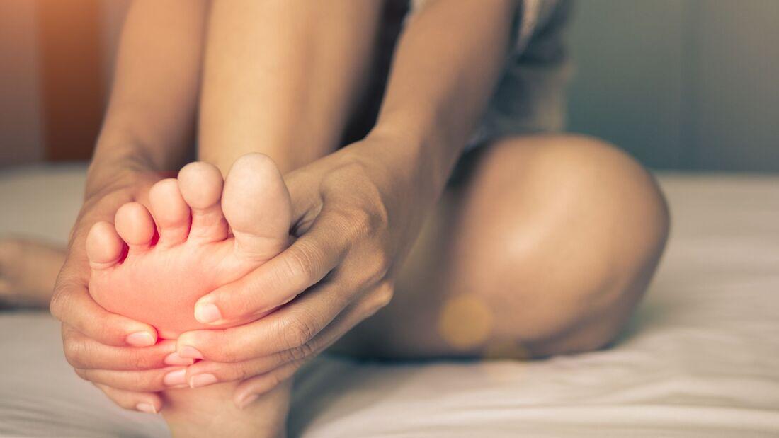 lymphdrainage knie selber machen