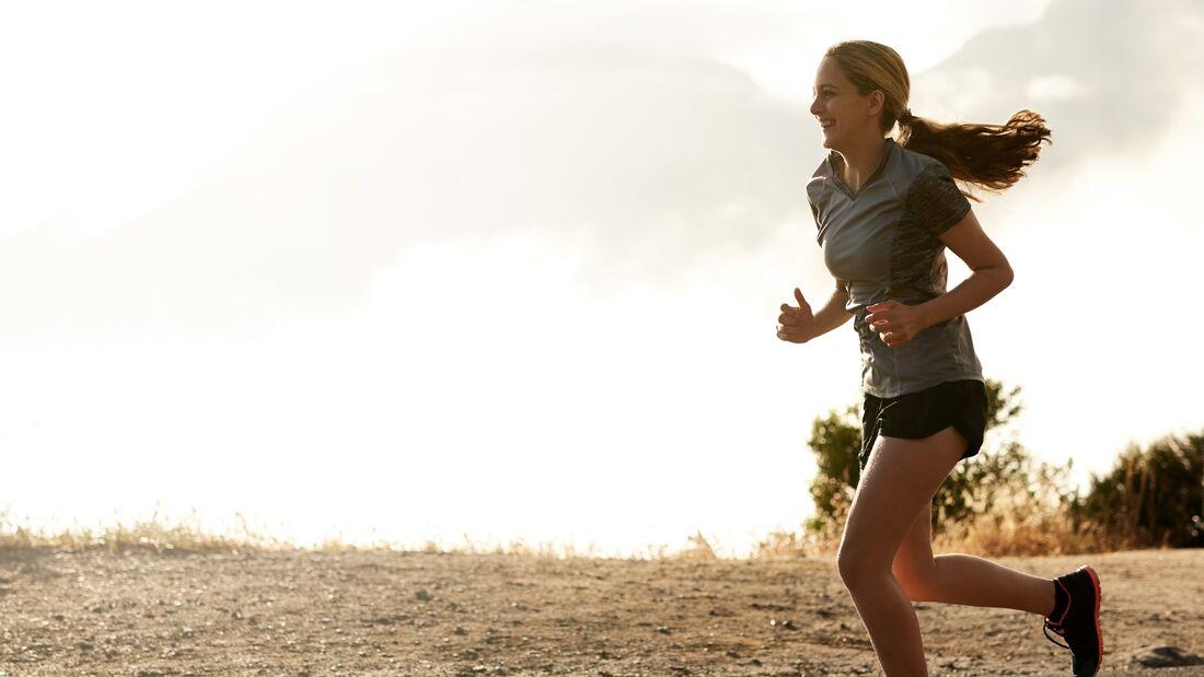 Routine-Lauf Fett verbrennen