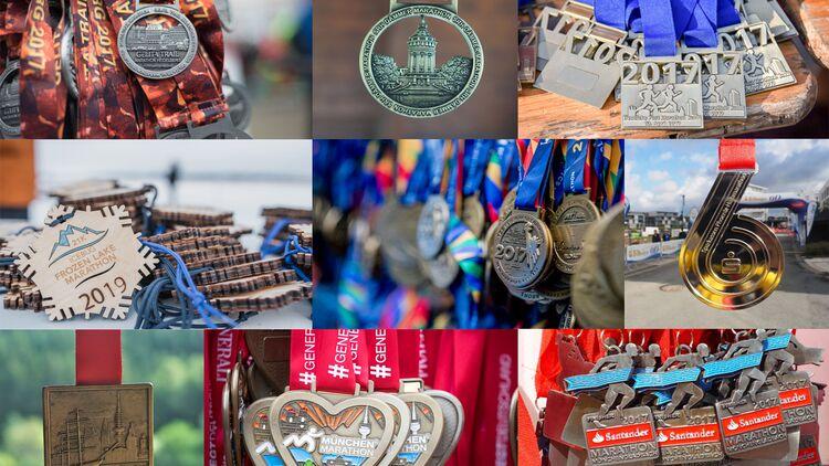 Die schönsten Lauf Medaillen RUNNER'S WORLD