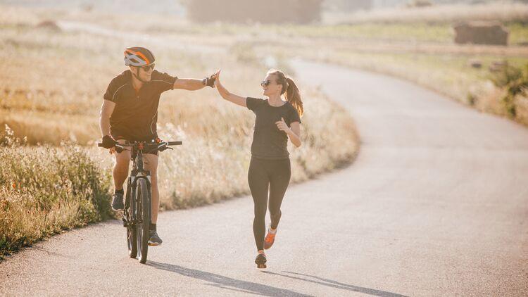 Was Ist Gesunder Laufen Oder Radfahren Runner S World