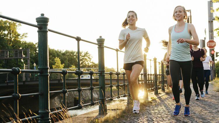Gehen oder Laufen hilft beim Abnehmen