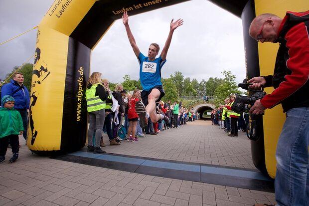 imland-Lauf Rendsburg: Jubel im Ziel